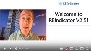screen shot of welcome video for RE-I 2.5