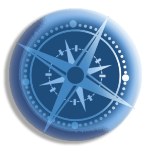 compass rose button
